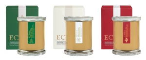 ECOYA Collection - Three Cities Christmas Candles