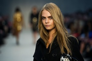 Moroccan Oil at London Fashion Week - Burberry