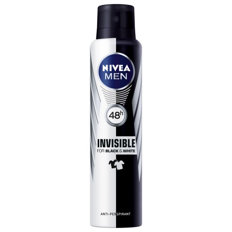 NIVEA MEN Deodorant Invisible B&W Power Aerosol