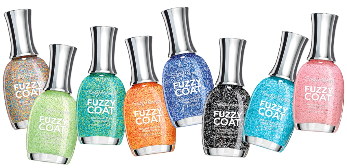 Product Love: Sally Hansen Fuzzy Coat Textured Nail Color | The ...
