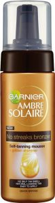 Ambre Solaire No Streaks Bronzer Self-Tanning Mousse