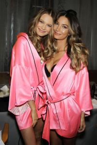 Bahati Prinsloo and Lily Aldridge